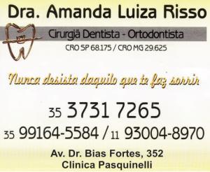 Dra Amanda Luiza Risso